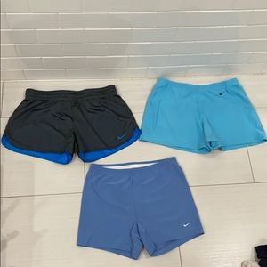 Nike shorts bundle blue